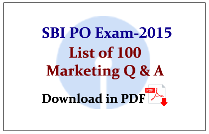 Aptitude for exams marketing pdf bank