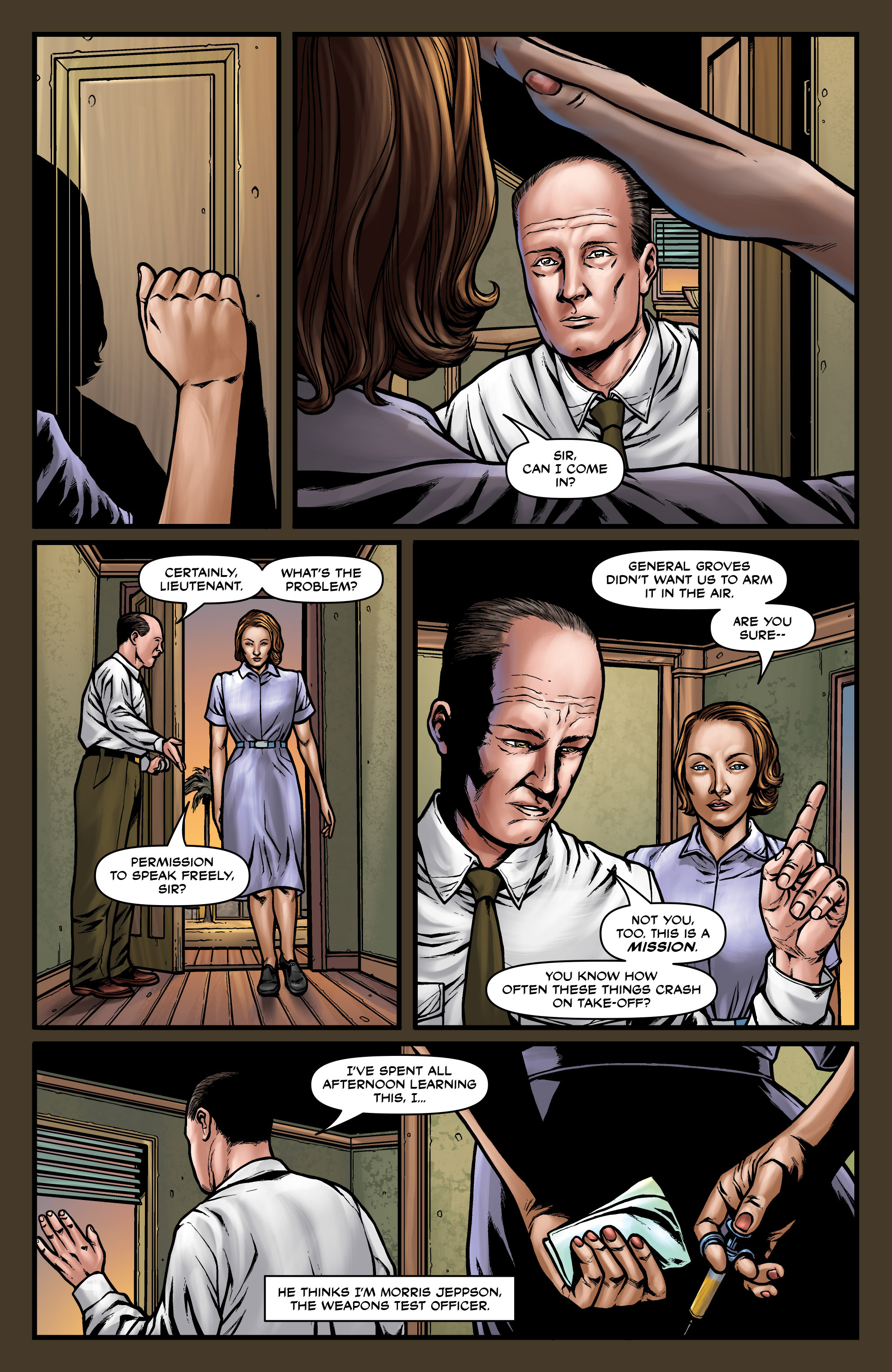 Read online Uber comic -  Issue #18 - 16