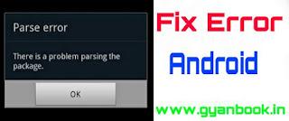 Parsing error problem fix