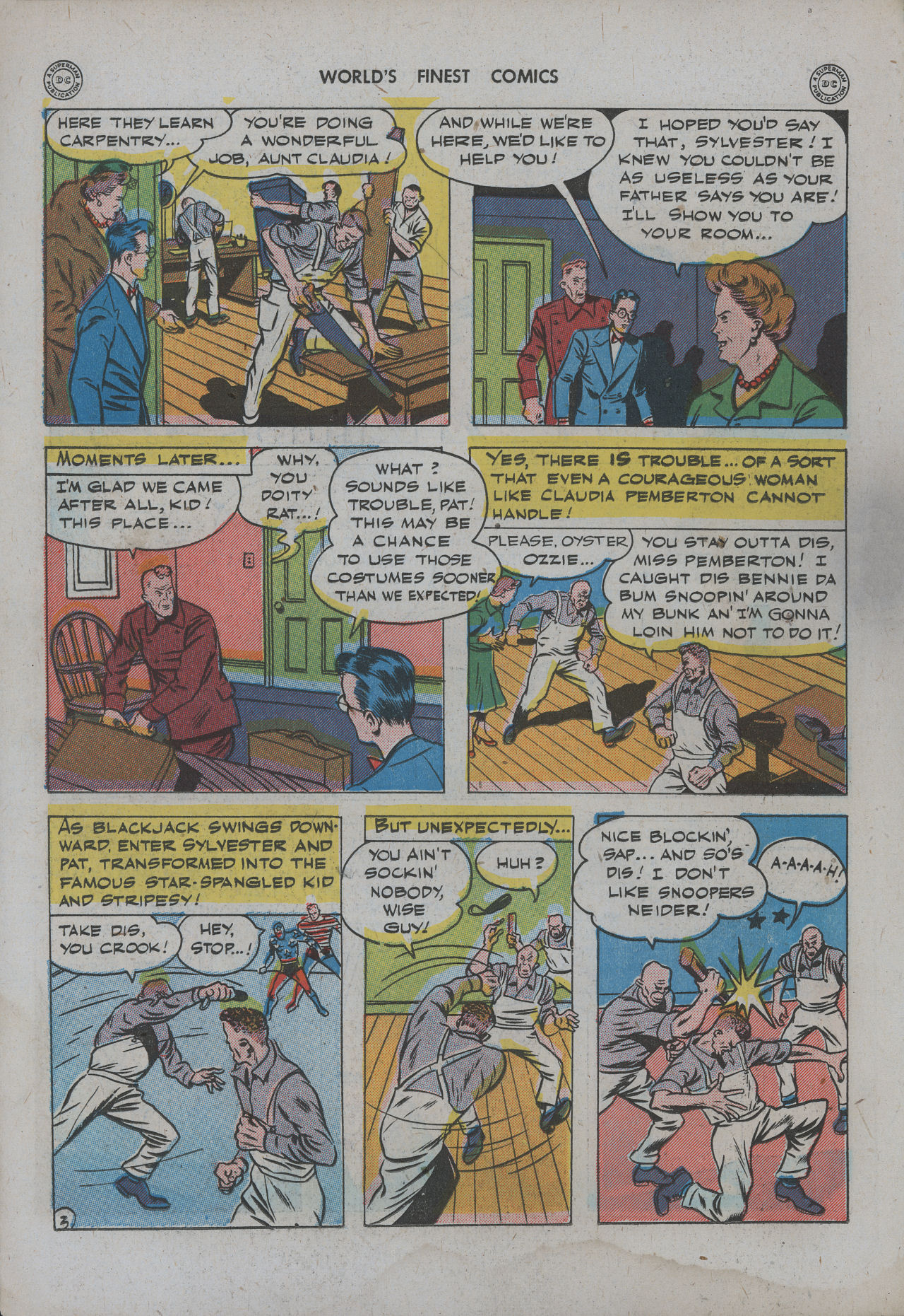 Read online World's Finest Comics comic -  Issue #15 - 19