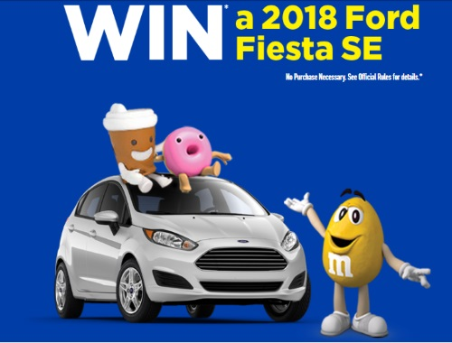 M&Ms  2018 Ford Fiesta SE Contest