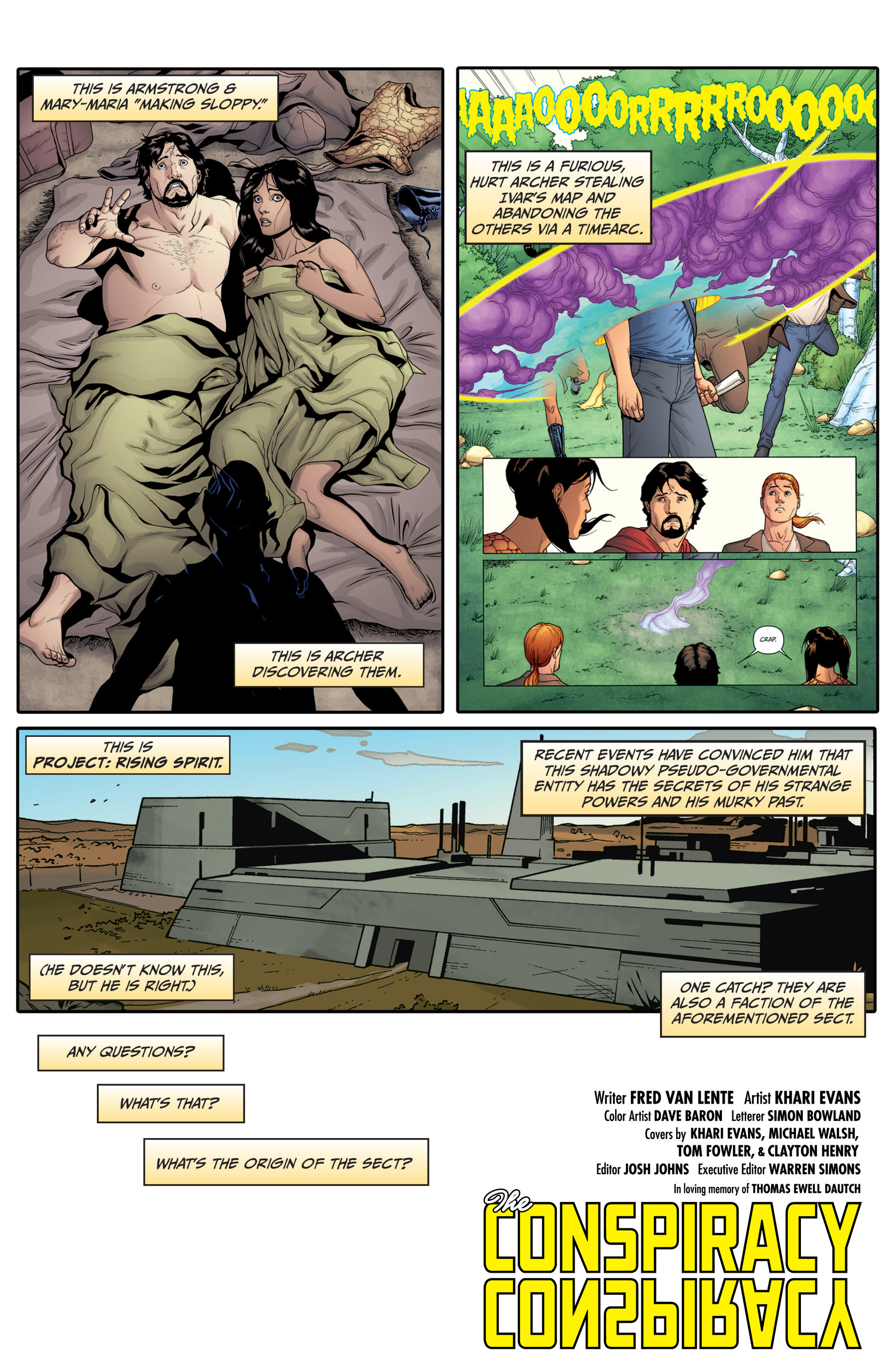 Read online Archer and Armstrong comic -  Issue #14 - 3