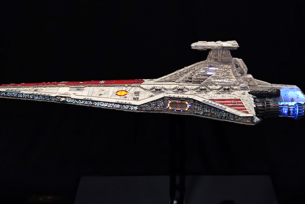 Star Wars Venator Model
