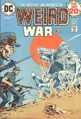 Weird War Tales #29, Lawrence of Arabia and the Phantom Bowmen of Crecy