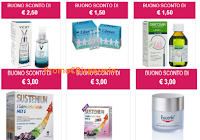 Logo Buoni sconto in Farmacia: richiedi fino a 48 coupon con Salute che Fare