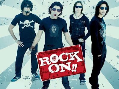 Poster Of Hindi Movie Rock On (2008) Free Download Full New Hindi Movie Watch Online At worldfree4u.com