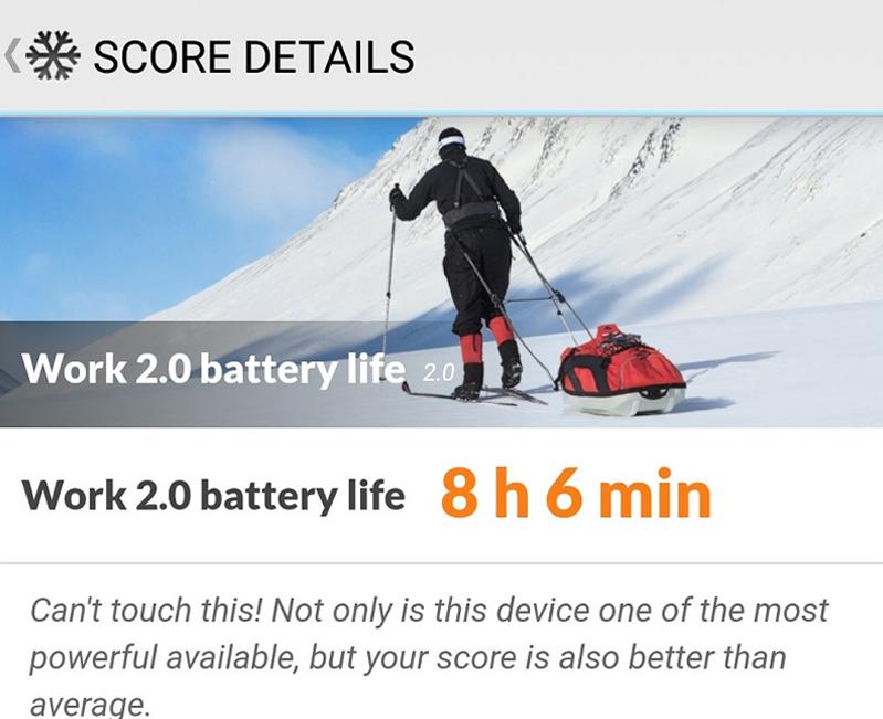 Samsung Galaxy S9 battery benchmark