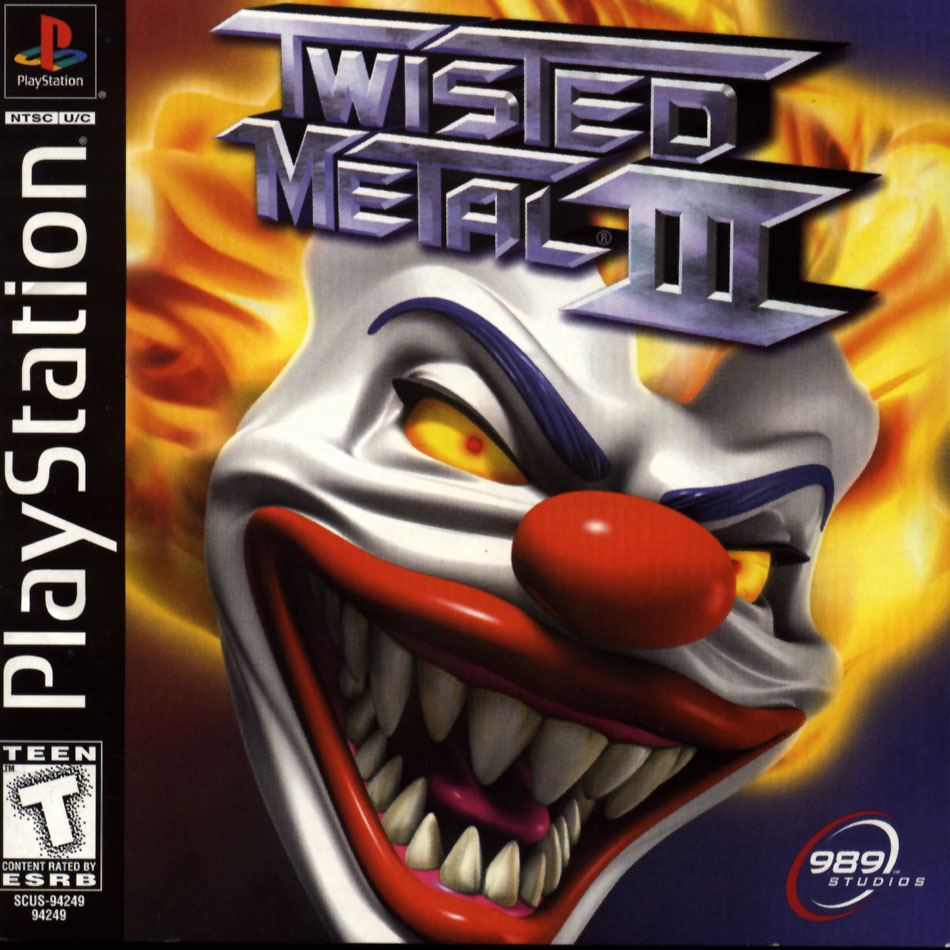 Twisted Metal 3 - PS1 - ISOs Download