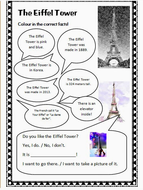 Around The World Summer Camp! Free Worksheets and