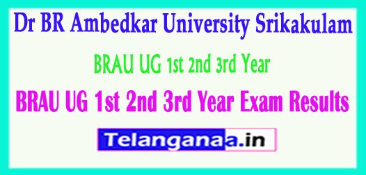 BRAU Degree Results 2018 BRAU UG 1st 2nd 3rd Year Exam Results