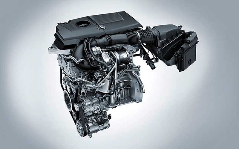2018 Mercedes-Benz B-Class Engine