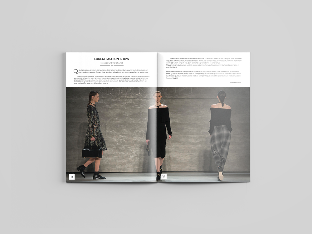 Fashion Catalog Design