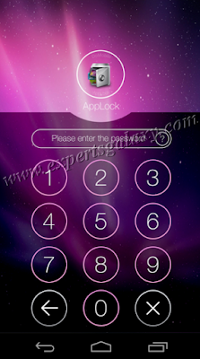 AppLock Asking Access Code