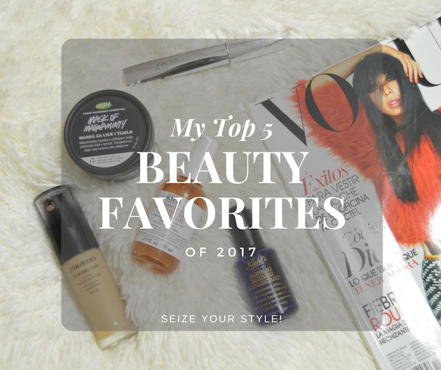 Top 5 Beauty Favorites 2017