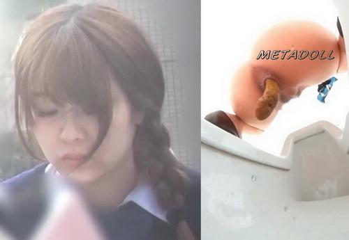 [EE-162] Female toilet voyeur pooping - Defecating and urinating girls in public toilet