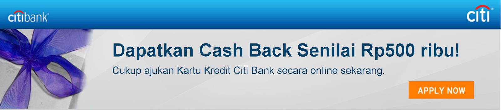 Daftar Kartu Kredit Citibank Online, Promo Kartu Kredit Citibank