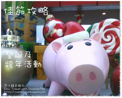 香港除夕新年及聖誕活動