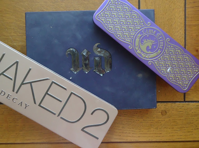 palette urban decay et lime crime