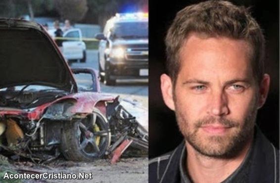Accidente de actor Paul Walker