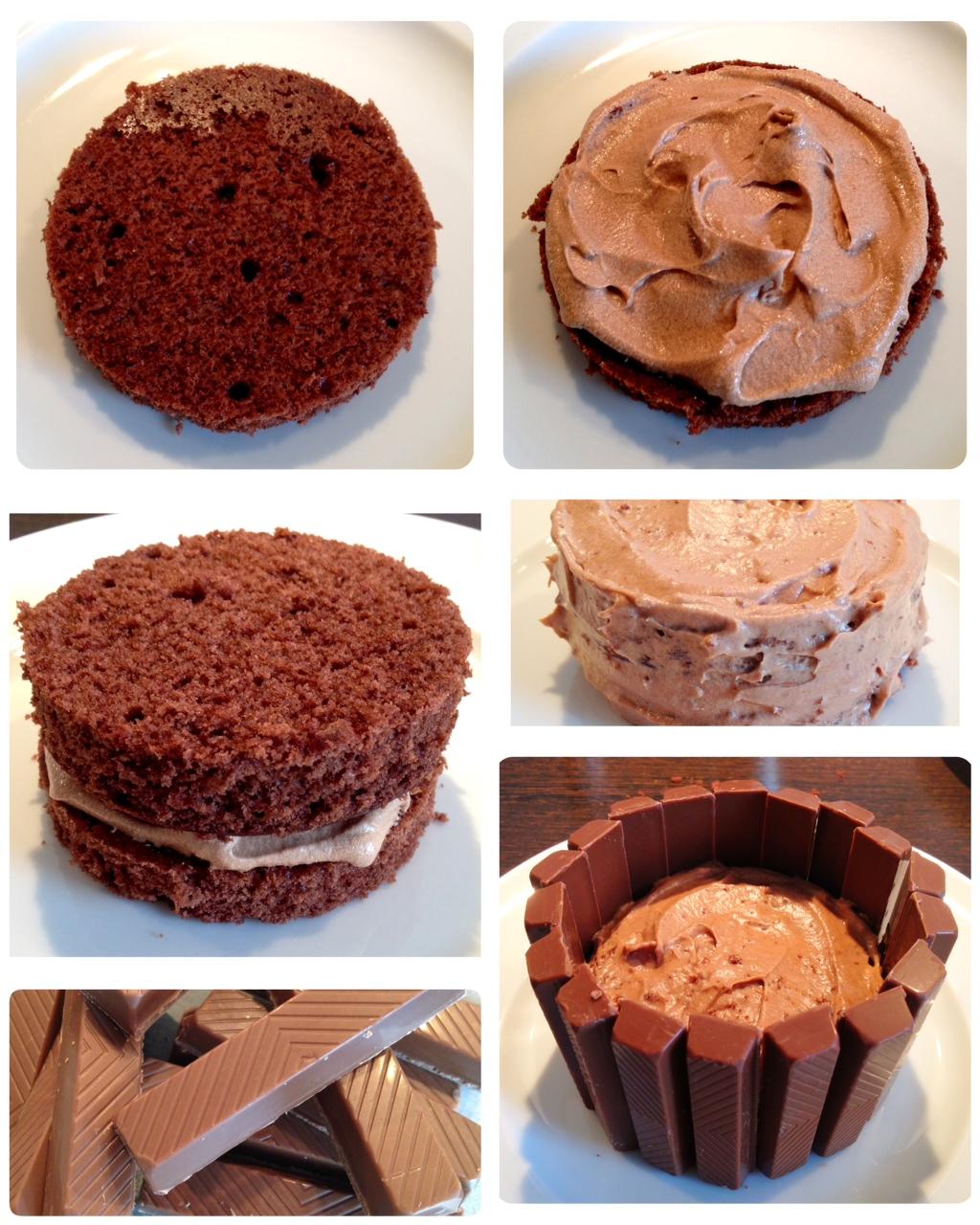 Mini KitKat & m&m's cakes mit Milka-Philadelphia-Creme ...