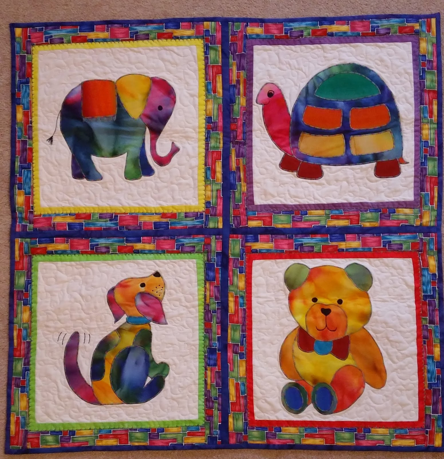 Dilys the quilt for Floor quilt for babies