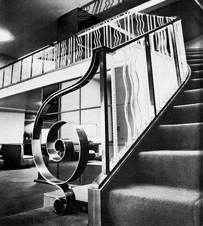 1944 stairs, a photograph