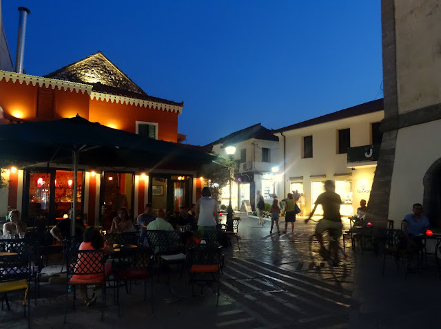Evenings in Preveza centrum