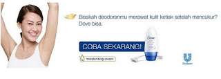 Sample Gratis Dove Whitening Original Roll On 2016