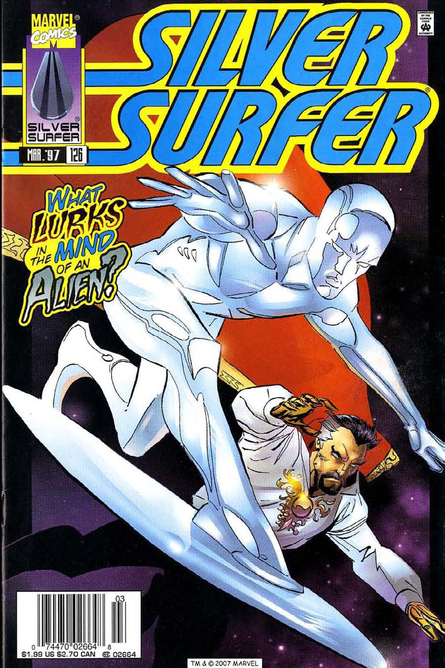 Read online Silver Surfer (1987) comic -  Issue #126 - 1