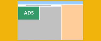 طريقة وضع اعلان جوجل ادسنس فوق أو أسفل الموضوع