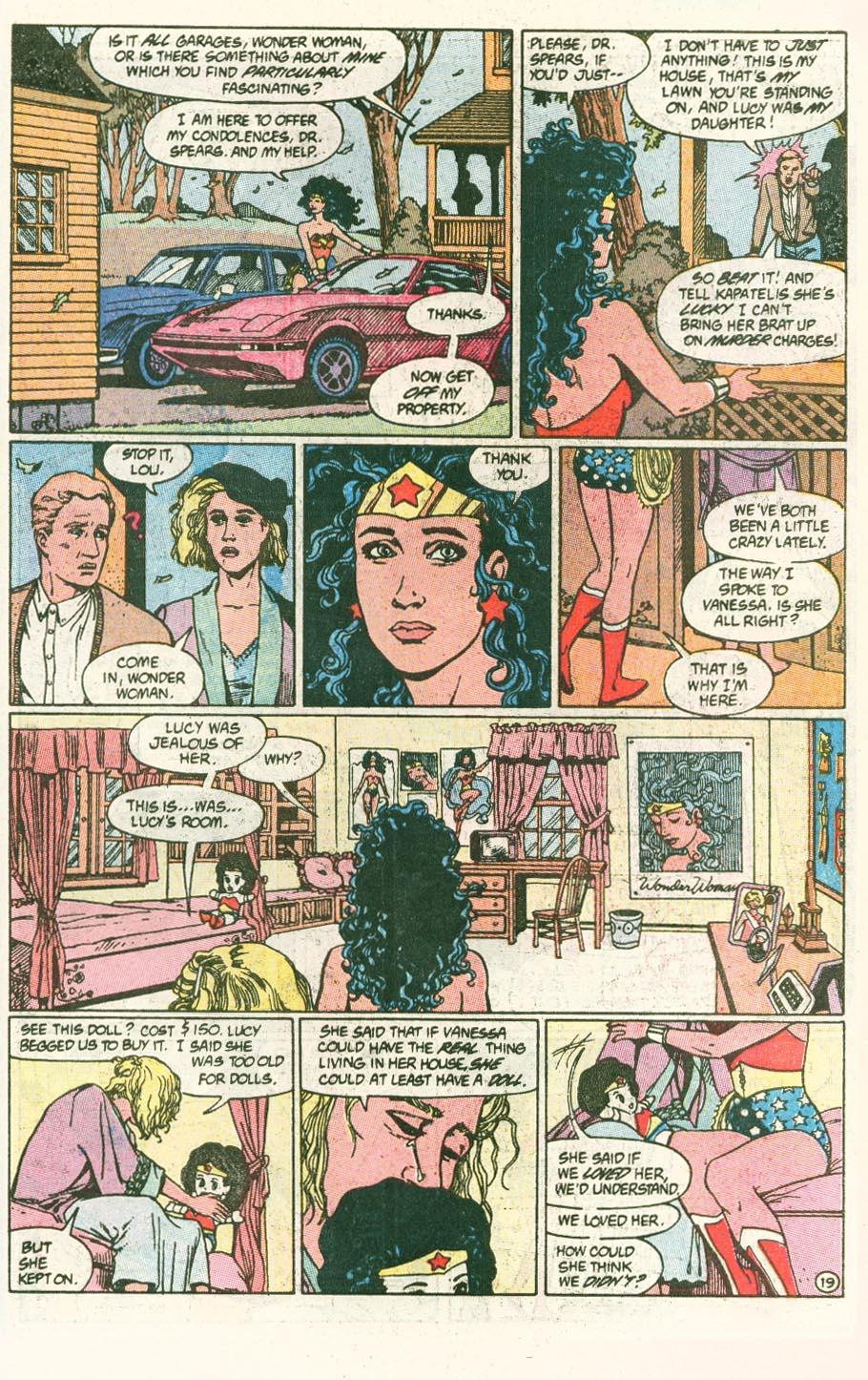 Read online Wonder Woman (1987) comic -  Issue #46 - 20