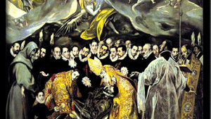 'El entierro del Conde de Orgaz', uno de los cuadros más importantes de El Greco
