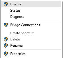 cannot connect to wifi windows 10