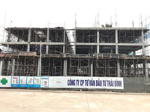 Tiến độ xây dựng liền kề Gelexia Riverside