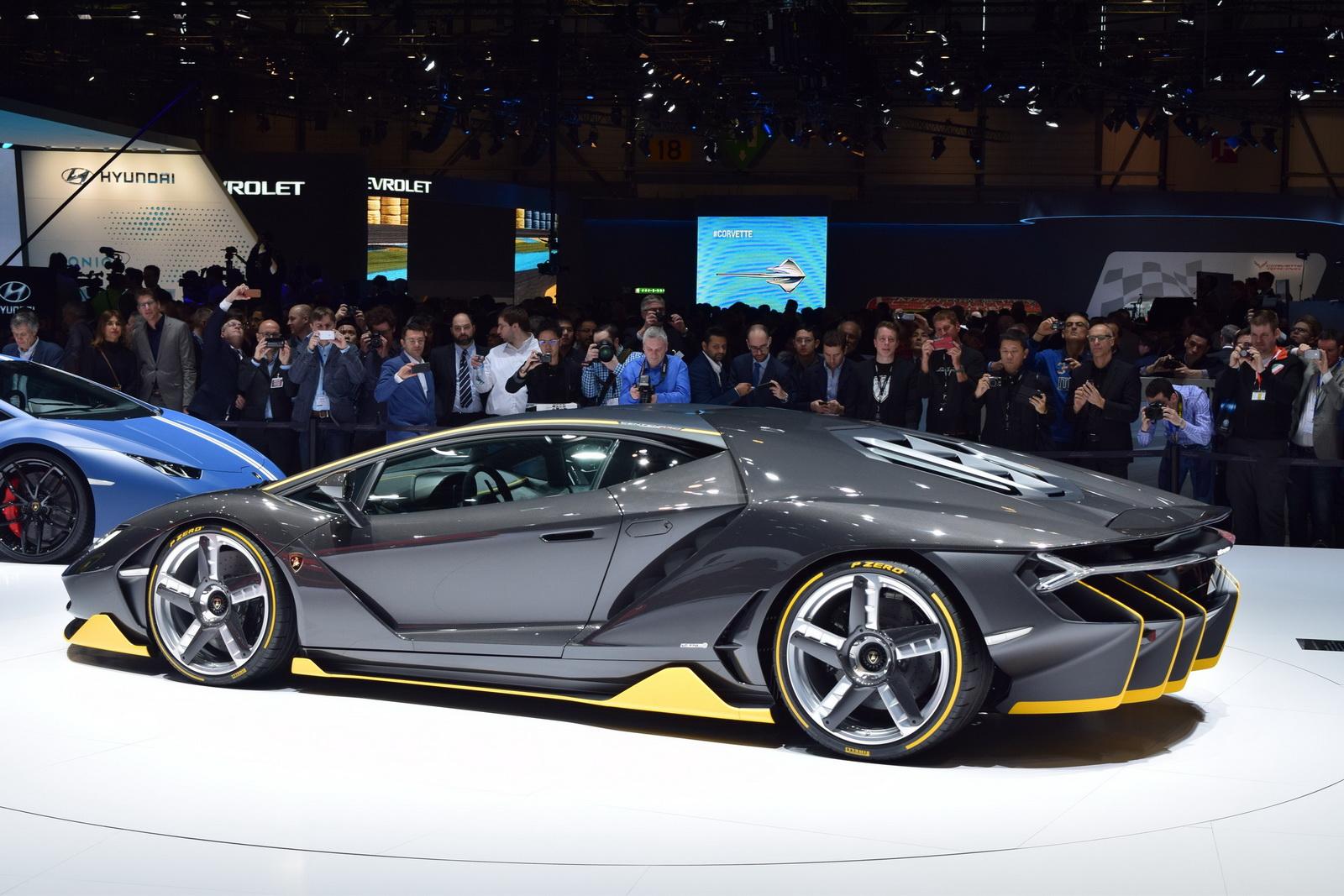Centenario 2017 được thiết kế theo nguyên lý khí động học hoàn hảo