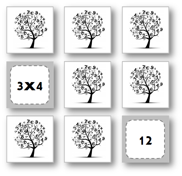 Teacher charlotte memory des tables de multiplication 2 - Jeu sur les tables de multiplication ...