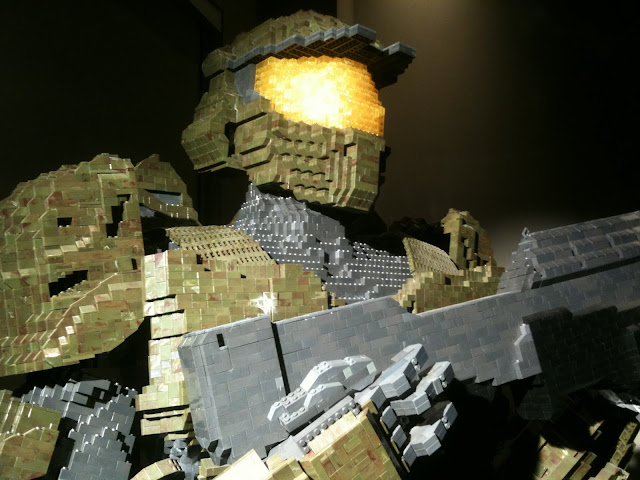 master chief made of mega blocks