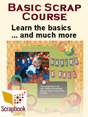 Basic Scrap Course with Paintshop Pro