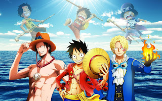 Luffy, Ace, Sabo