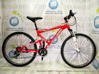 Sepeda Gunung Reebok Chameleon Recoil Rangka Aloi 6061 Full Supension 21 Speed 26 Inci