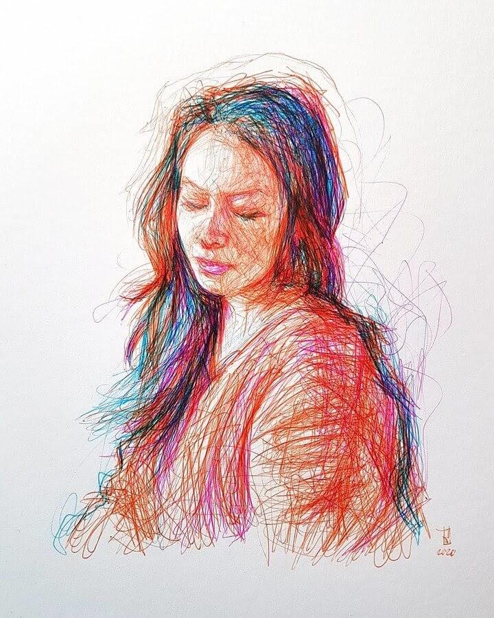 13-Alberto-Russo-Scribble-Drawings-www-designstack-co