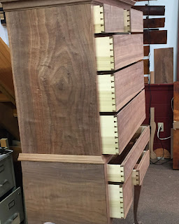 handmade furniture dovetailed drawers
