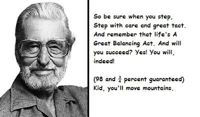 """""""Dr. Seuss Quotes About Success"""""""