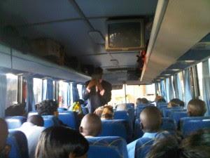 pastor condoms bible preacher bus