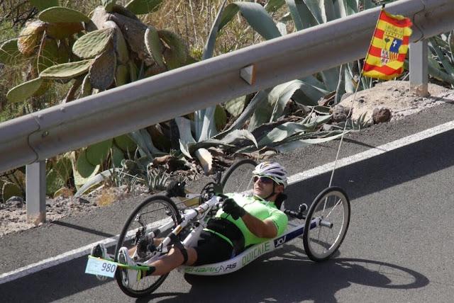 La cicloturista de Gran Canaria 2017