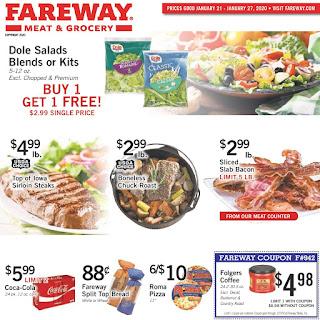 ⭐ Fareway Ad 1/21/20 ⭐ Fareway Weekly Ad January 21 2020