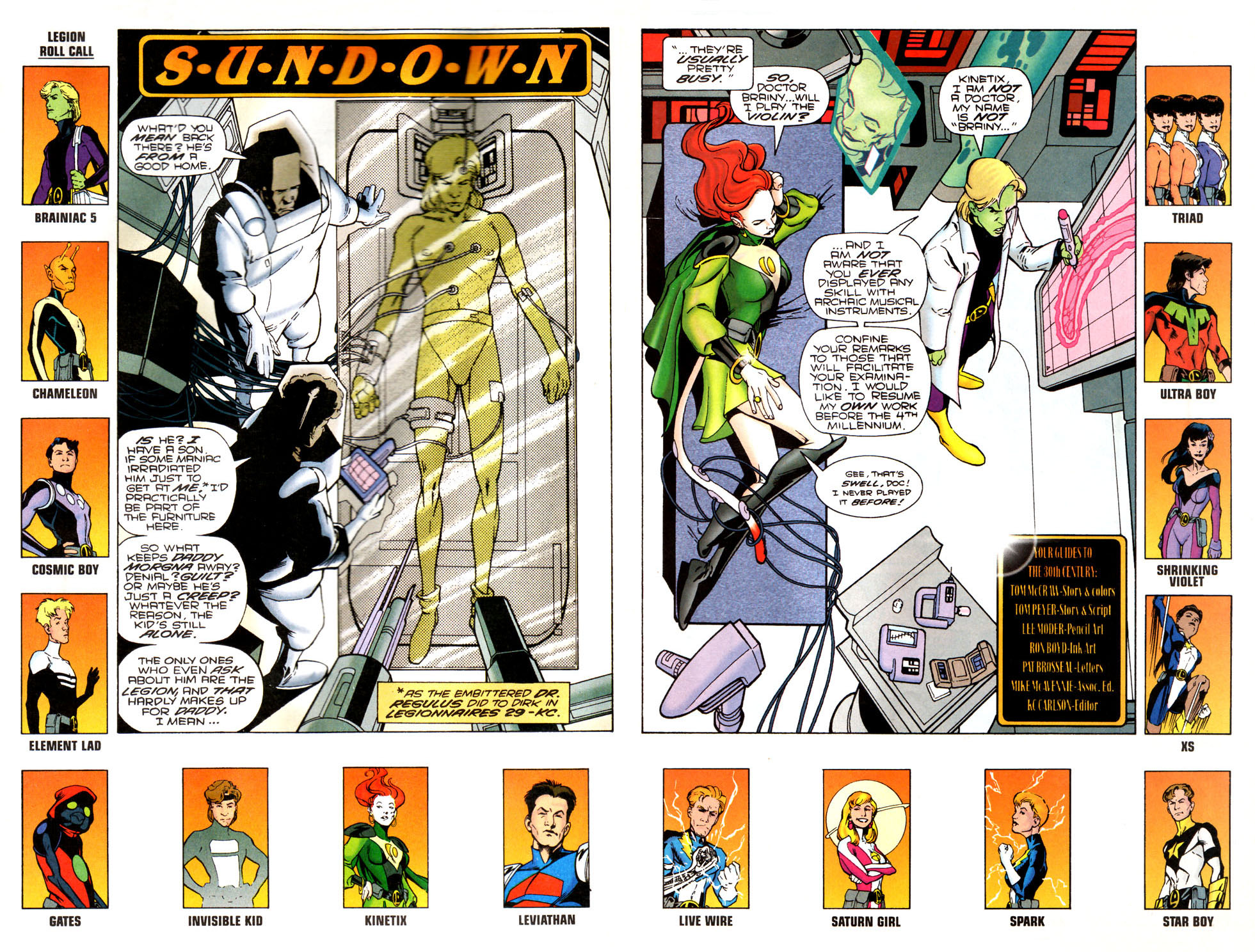 Legion of Super-Heroes (1989) 81 Page 2