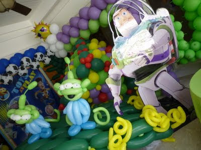 Toy Story theme party decoration