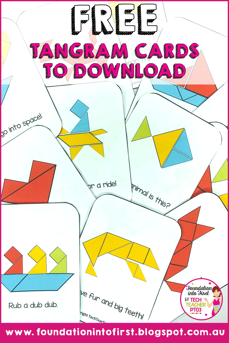 photo about Printable Tangram Puzzles titled Cost-free Tangram Puzzle Card Down load Basis into 1st