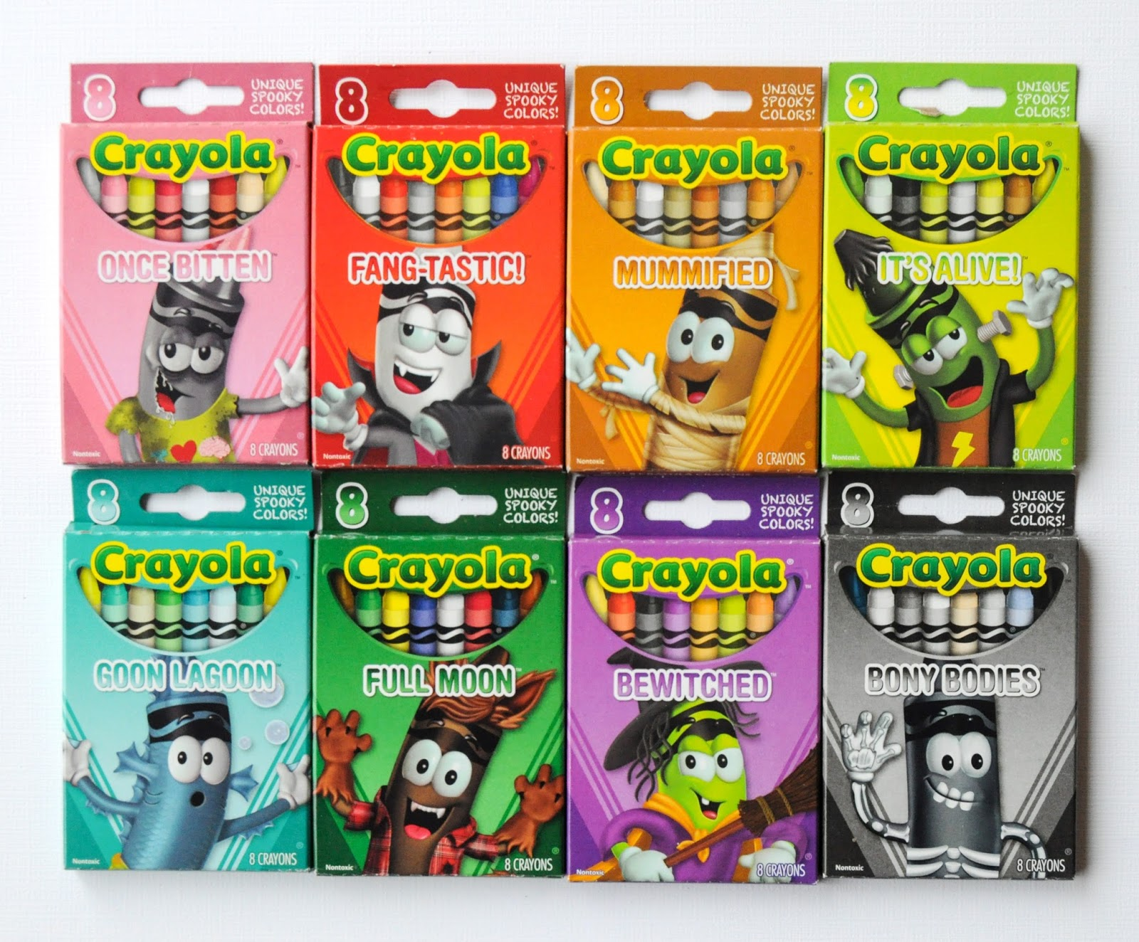 click here to search for these crayons on ebay - Crayola Halloween 2